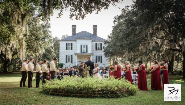 Hopsewee Plantation wedding of Megan and Justin by Charleston top photographer Reese Allen Studio (12 of 32).jpg