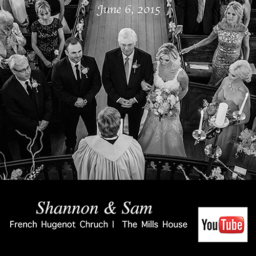 Charleston wedding at The Mills House and French Huguenot Church Charleston SC