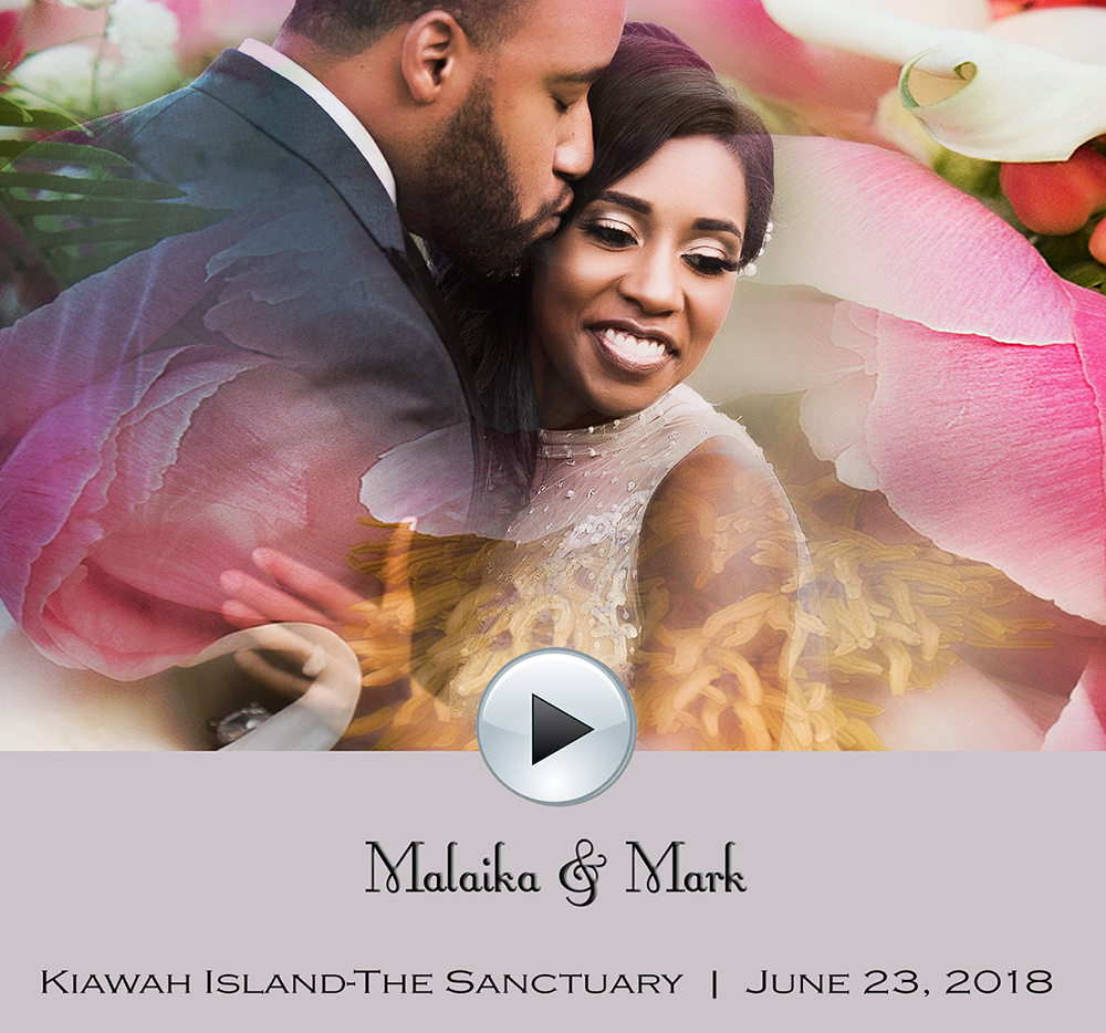 Malaika and Mark's Kiawah Island wedding at The Sanctuary